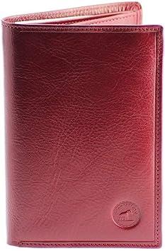GRAND CLASSIQUE Portefeuille en cuir ROUGEBORDEAUX N1326 Grand Portefeuille Homme