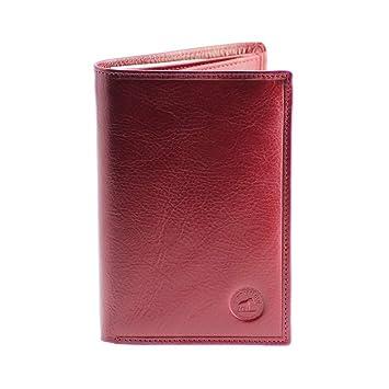 GRAND CLASSIQUE Portefeuille en cuir ROUGE BORDEAUX N1326 - Grand  Portefeuille Homme 41eeeec9f39
