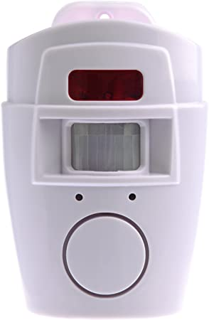 Sensor de movimiento con alarma para hogar: Amazon.es: Hogar