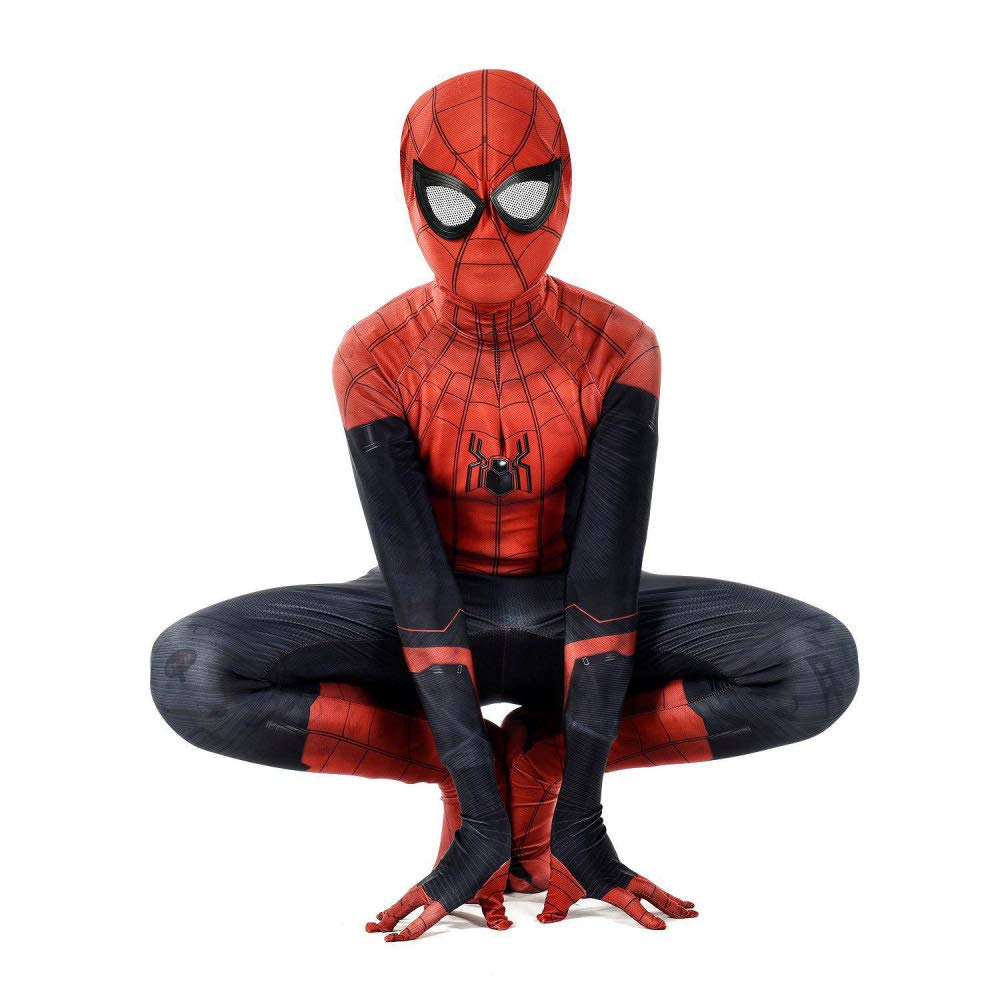 PIAOL Heroes Expedition Spider Man Costume Cosplay Anime 3D ...