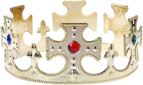 jackyee DIY Corona de Juguetes pequeños Corona de Oro