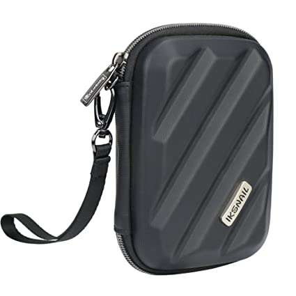 b6f3dcaa8ee1 Iksnail Electronics Organizer Travel Case, Hard Gadget Accessories Storage  Bag Carrying Pouch for USB Cable, SD Card, USB Drive, Hard Drive, Phone, ...