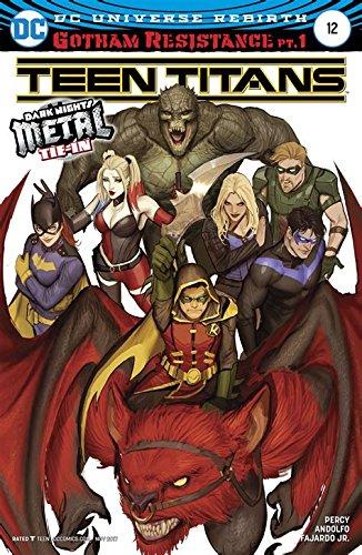 Download Teen Titans #12 (Dark Nights Metal) Variant ebook