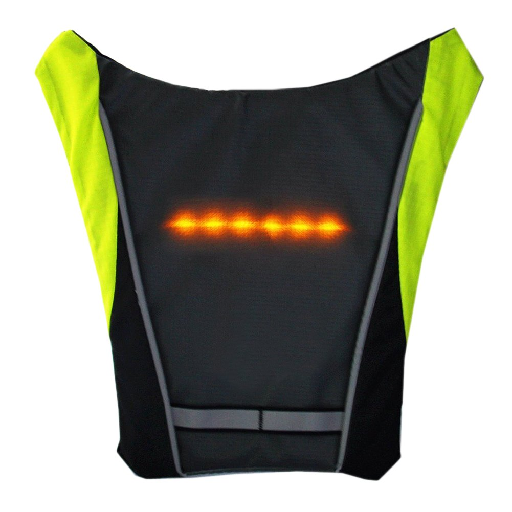 Cycling Efficient Lixada Bike Bag Usb Reflective Vest With Led Turn Signal Light Remote Control Sport Safety Bag Gear For Cycling Jogging Available In Various Designs And Specifications For Your Selection