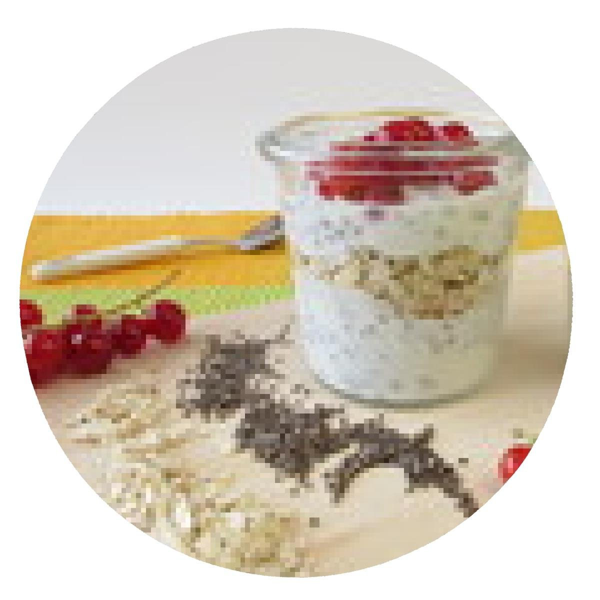 my-puzzle-design alfombrilla de ratón Desayuno con el yogur ...