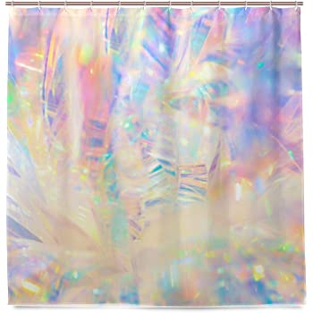 Iridescent Shower Curtain Bath Bathroom Home And Credit To Pin 259801472238395594
