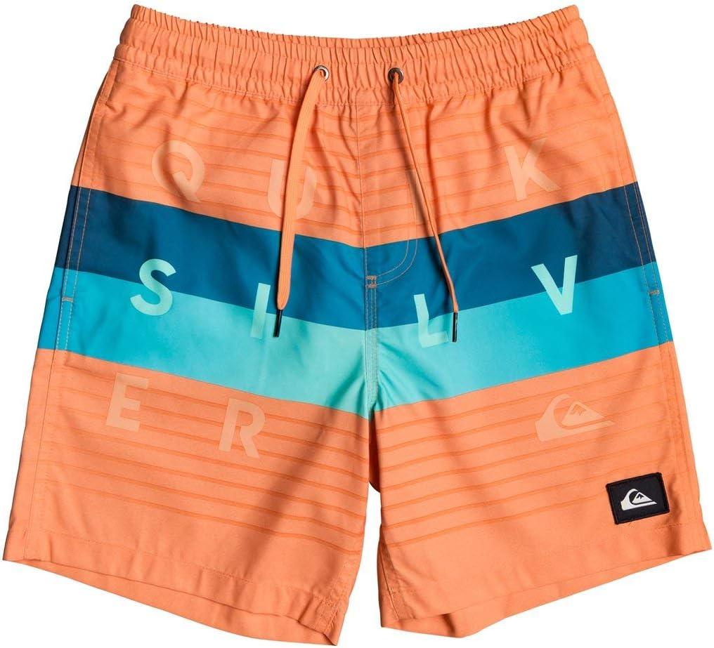Quiksilver Boys Word Block 15-Swim Shorts 8-16