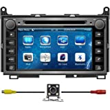 """Bluelotus® 7""""Car DVD GPS Navigation for TOYOTA Venza 2009 2010 2011 2012 with Bluetooth+TV+Radio+steering Wheel Control+RDS+Sd/usb+AUX IN+ Free Backup Camera+US Map"""