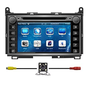 "BlueLotus® 7"" Car DVD GPS Navigation for TOYOTA Venza 2009 2010 2011 2012 with"