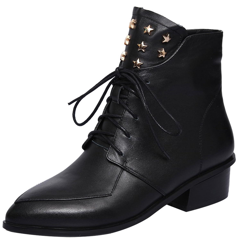 ELEHOT Womens Eleglobe 3CM low-heel Boots