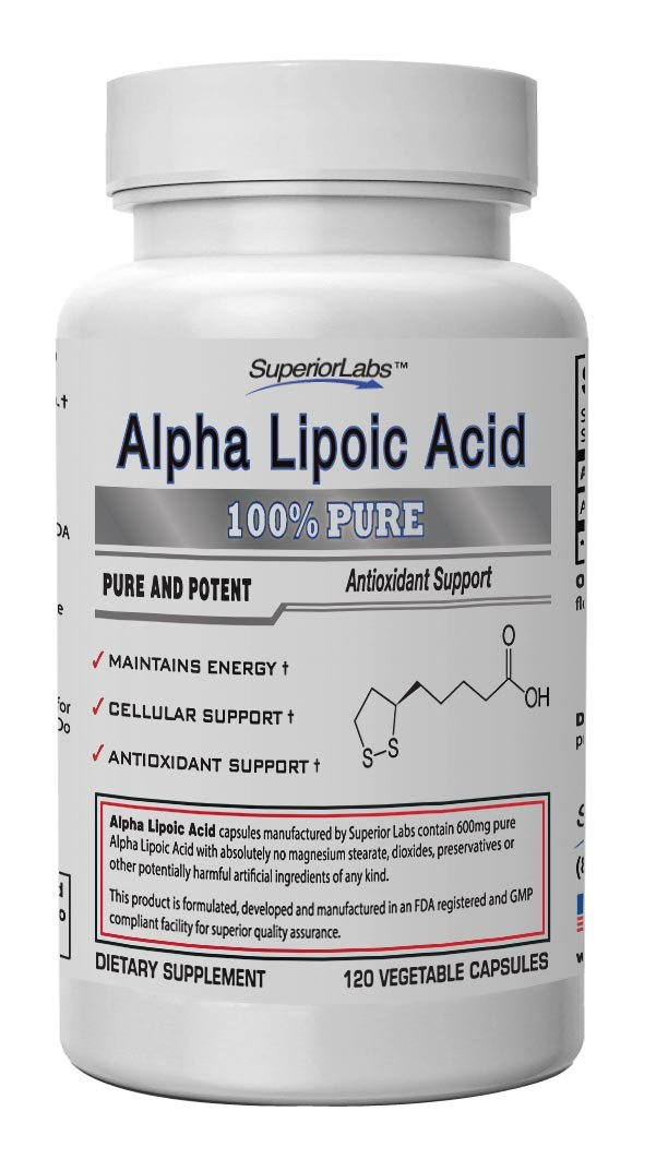 Best Rated in Alpha Lipoic Acid Nutritional Supplements