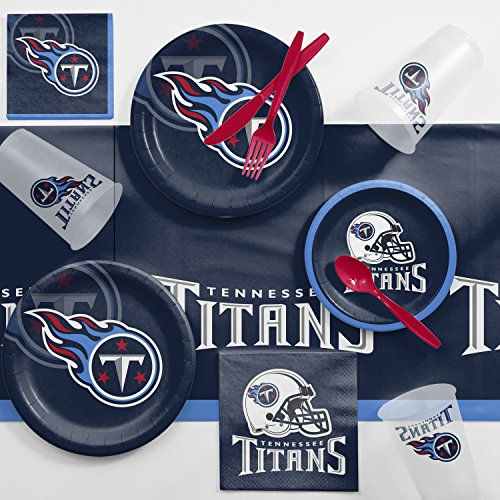 Creative Converting Tennessee Titans Game Day Party Supplies Kit ()