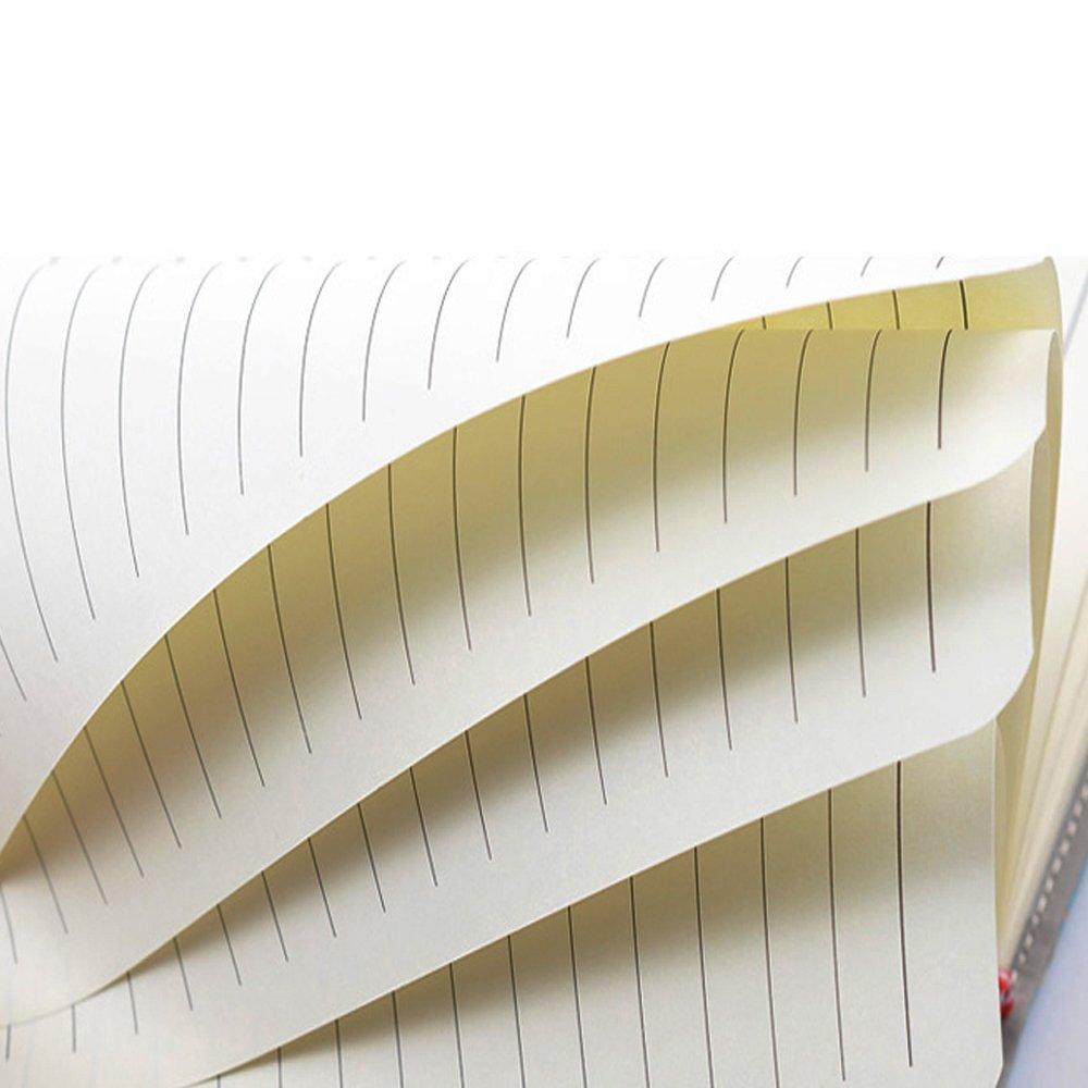 Diario di Viaggio PU quaderno scrittura A5 Taccuino in Pelle PU Diario con lucchetto a combinazione TPN107 145x210mm Rose Pink