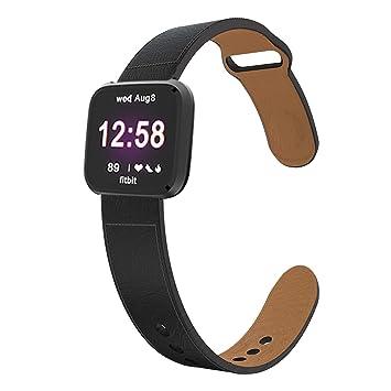 KTcos Compatible con Fitbit Versa/Versa Lite Edition Correa ...