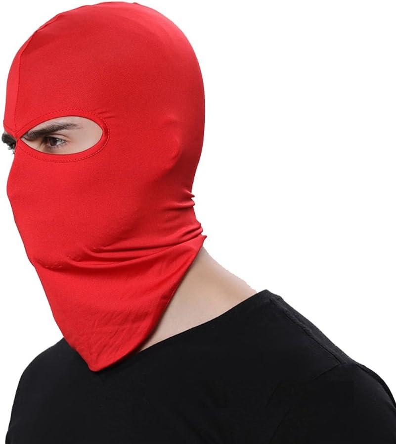GANWAY Wind Cap Motorcycle Ski Masks Balaclavas Outdoor Sports Cycling Hat (Red)