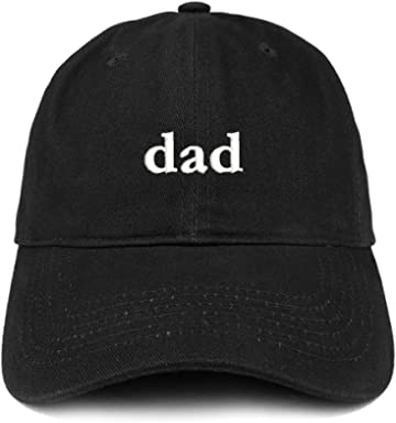 Trendy Apparel Shop Dad Embroidered Soft Low Profile Cotton Cap Dad Hat a49561cccb7d