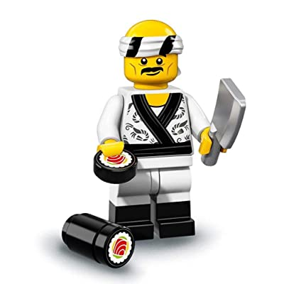 LEGO Ninjago Movie Minifigures Series 71019 - Sushi Chef: Toys & Games