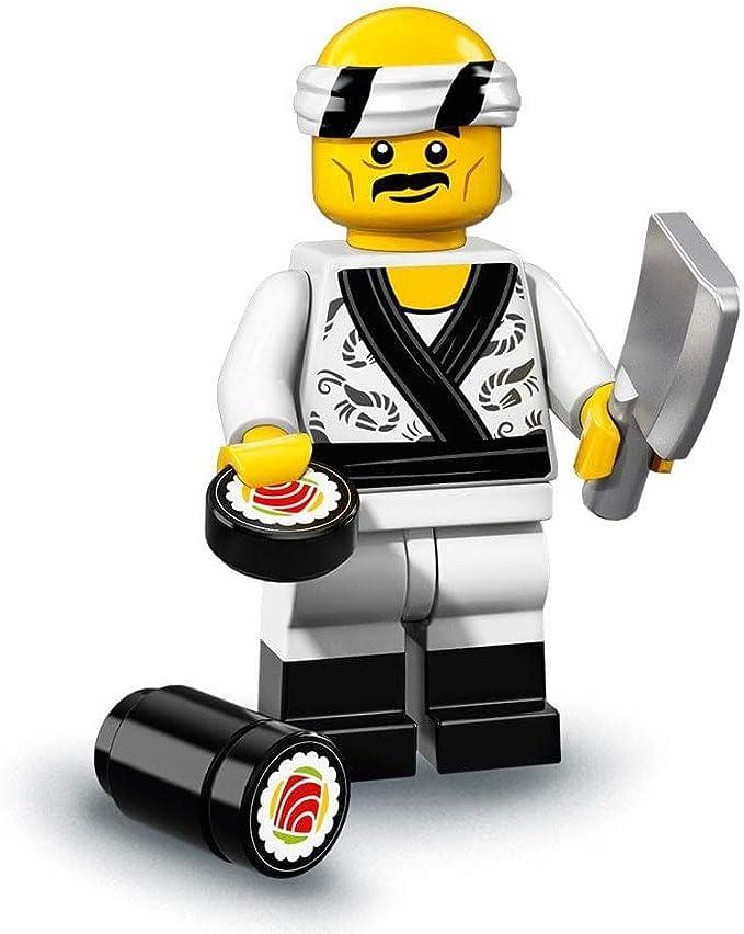 Utensil 3 Shushi In A Dish Accessories Lego Minifigure Food