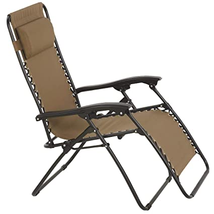 Wondrous Amazon Com Summerwinds F5325Obkox64 Oxford Tan Fabric Zero Creativecarmelina Interior Chair Design Creativecarmelinacom