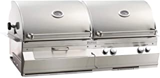 product image for Fire Magic Aurora Series 46-Inch Built-In Gas and Charcoal Combination Grill (A830i-6EAN-CB), Rotisserie, Natural Gas