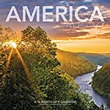 America The Beautiful Wall Calendar (2019)