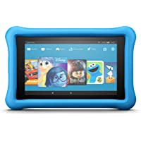 "Fire 7 Kids Edition Tablet, 7"" Display, 16 GB, Blue Kid-Proof Case - (Previous Generation - 7th)"