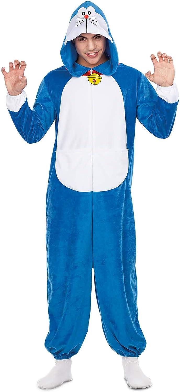 Doraemon Disfraz Pijama Adultos: Amazon.es: Juguetes y juegos