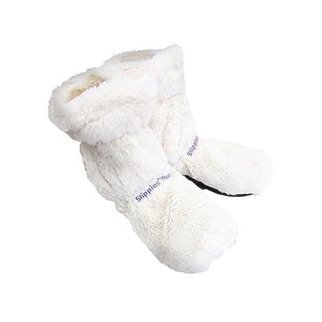 prezzo speciale per migliori offerte su accaparramento come merce rara Warmies TTE-BOO-1 - Peluche Pantofole Bianche
