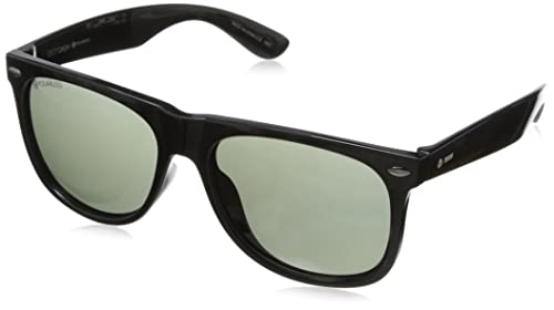 Amazon.com: Dot Dash Wayfarer anteojos de sol, negro: Clothing
