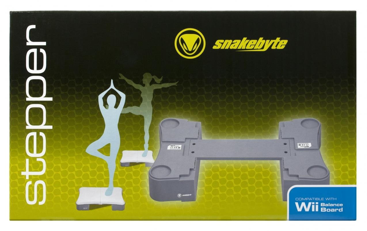 Snakebyte Snakebyte Stepper for Nintendo Wii Fit Balance Board - Transform your Nintendo Wii Balance Board into the ultimate fitness machine - Nintendo Wii U;