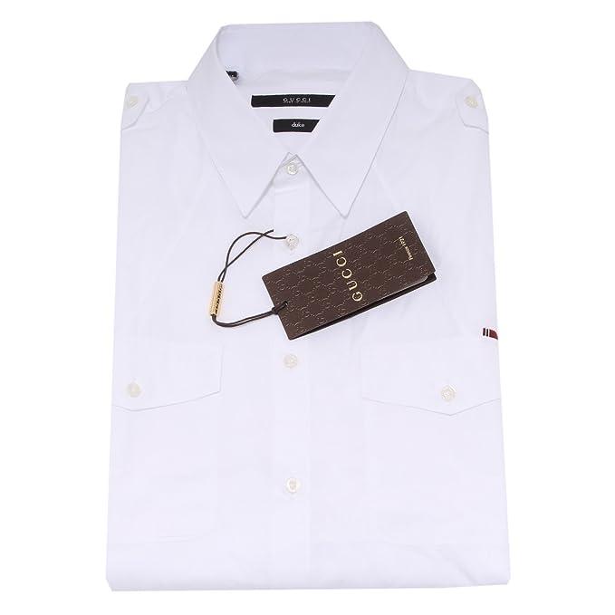 Gucci 4843O Camicia Manica Lunga Duke Camicie uomo Shirt Men [43 ...