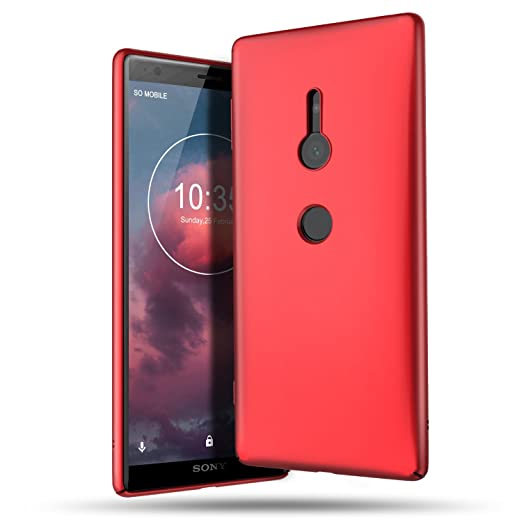 B BELK Sony Xperia XZ2 Case, Ultra Slim Thin Snug-Fit Scratch Resistant Premium PC Hard Protective Cover with Matte Finish Coating for Sony Xperia XZ2 ...