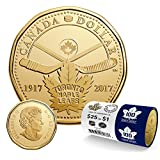 2017 $1 Loonie 100th Anniversary of The Toronto Maple Leafs (1 coin)