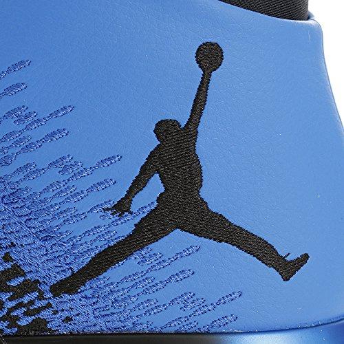 Nike Herren Air Jordan XXXI Basketballschuhe Schwarz / Spiel Royal-Weiß