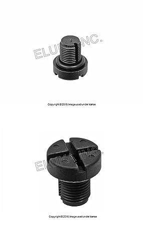 2 x BMW auxiliar purgador de radiador (con junta tórica para sistema de refrigeración 320i