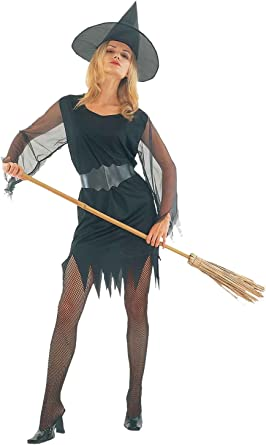Islander Fashions Womens Halloween Party Disfraz de Bruja Sexy ...