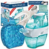 Navage Nasal Irrigation Deluxe Bundle: Navage Nose Cleaner, 38 SaltPod Capsules, Countertop Caddy, and Travel Case. 142.85 if Purchased Separately. You Save 32.90 (23%) (Paisley)
