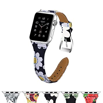 Correas Correa De Reloj Banda De Reemplazo Compatible Apple Watch Iwatch 38/40 / 42