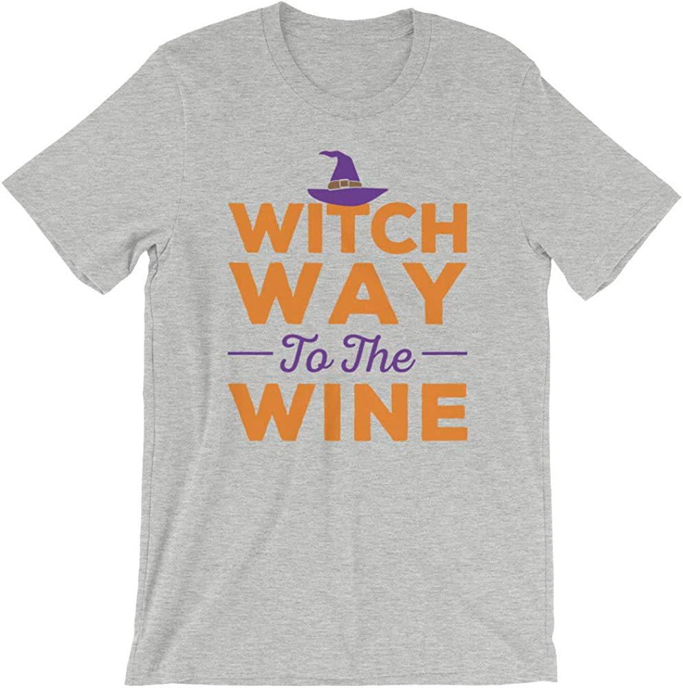 Zubia Creative Witch Way to The Wine Halloween Unisex Hoodie