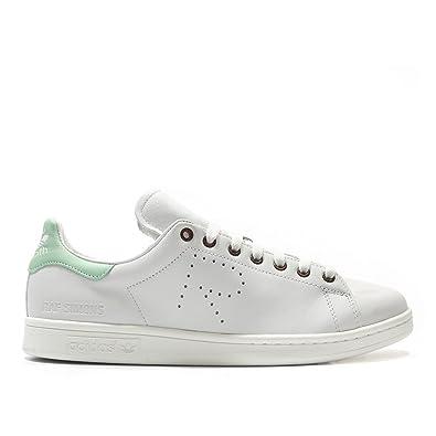 a924ac45b1516 ADIDAS X RAF SIMONS Stan Smith Sneakers Off White/ Pistachio Green ...