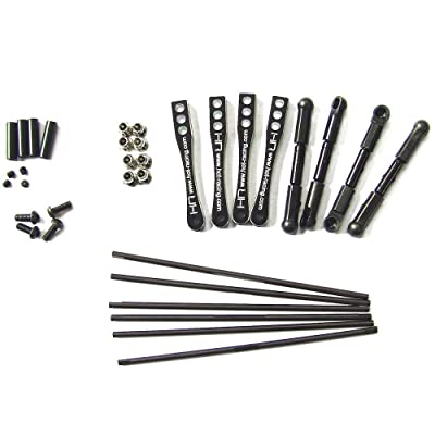 Hot Racing WRA311X01 Torsion Sway Bar Set - Axial Wraith: Toys & Games
