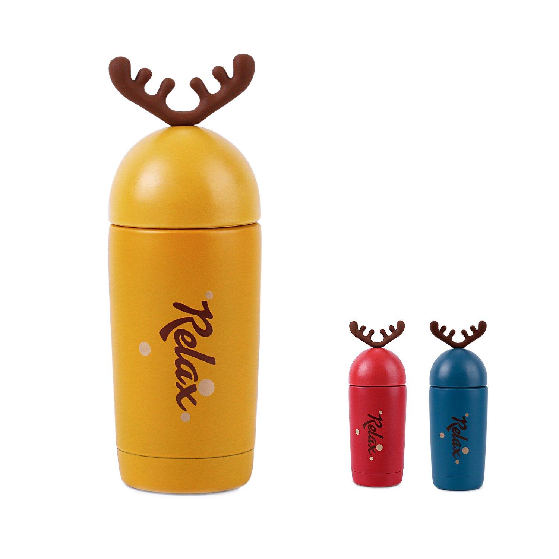 Amazon.com: homespon Navidad Ciervo cuerno forma Thermos ...