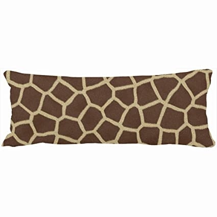 Amazon Decorative Body Pillows Giraffe Skin Print Unique Design Inspiration Giraffe Print Body Pillow Cover