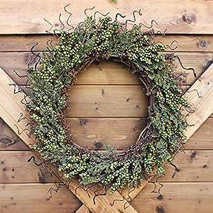 Decorative Berry Wreath | Multiple Color Variations Available | Housewarming Decor 86