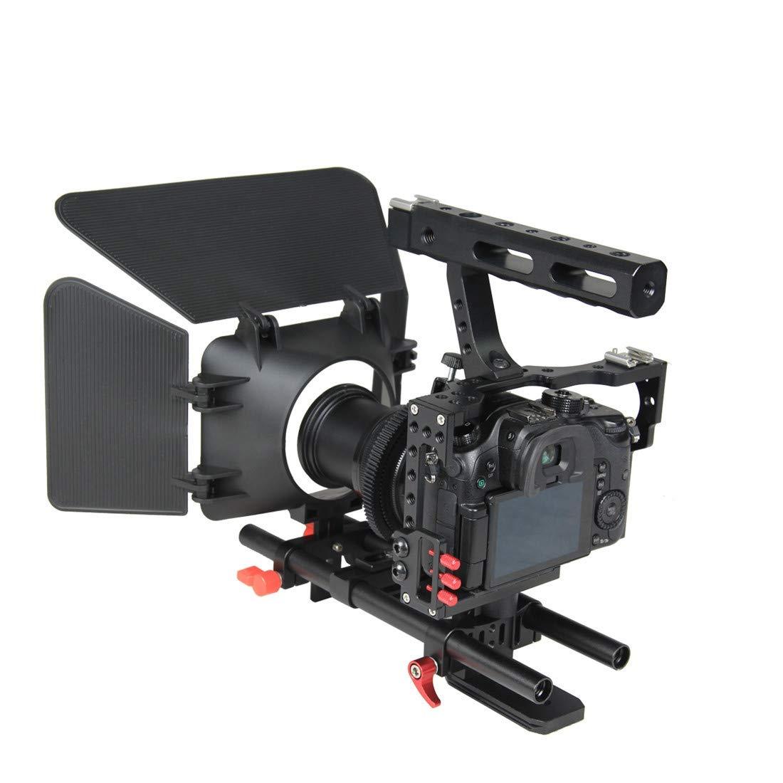 YELANGU YLG1105A - Juego de Jaula A7 para cámara de vídeo (Incluye ...