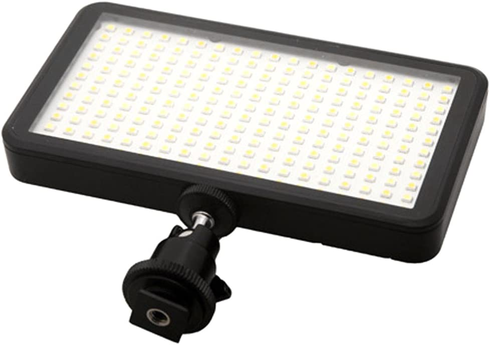 Almencla W228 Continuous Video Light LED Dimmable Ultra Bright Panel Digital Camera
