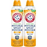 Arm & Hammer No White Mess Invisible Spray Powder, 7 Ounces each (Value Pack of 2)