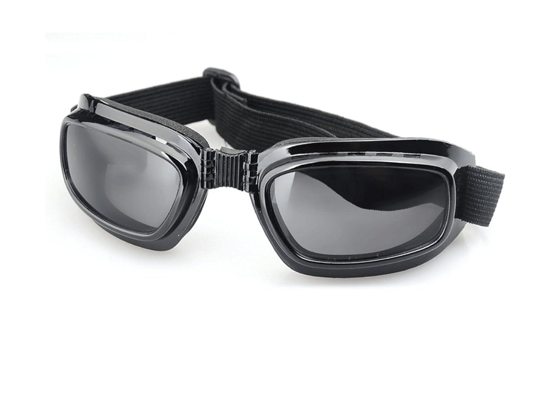 WDAKOWA Sport-Klappspiegel Retro- Motorrad-Brille Ski-Spiegel Reiten Sonnenbrillen,B