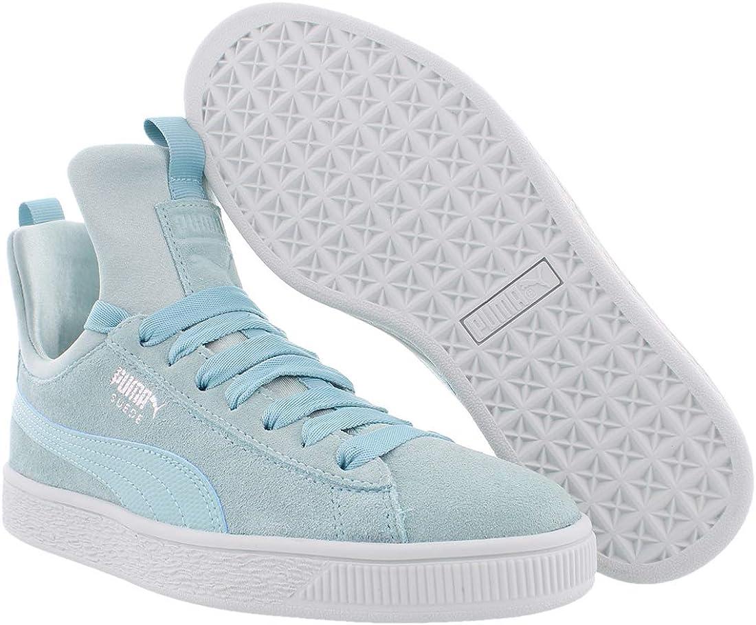 Puma Chaussures en Daim Féroces pour Femmes Aquifer Blue Flower