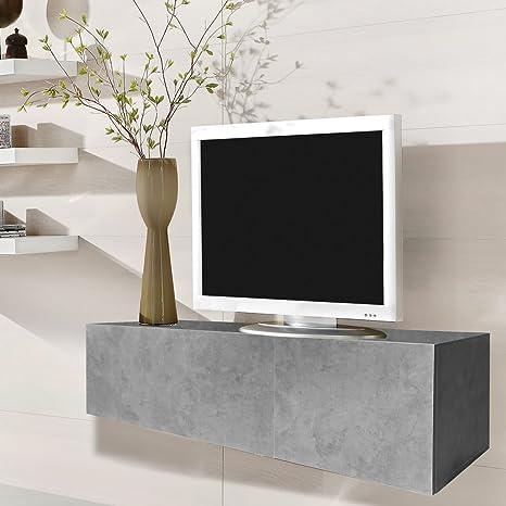 Melko Fernsehschrank 120cm Tv Lowboardsideboard Aus Holz